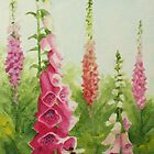 Foxgloves by Lynne  M Kirby BA(Hons)