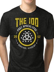 The 100 Post Apocalypse Survival Academy Tri-blend T-Shirt
