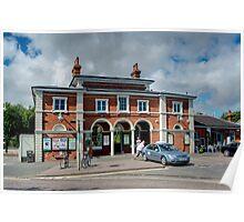 Rye Railway Station Poster