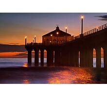Burning Ocean Photographic Print