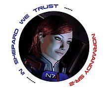 Mass Effect FemShep Photographic Print