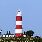 Happisburgh Lighthouse Norfolk (2) by Avril Harris