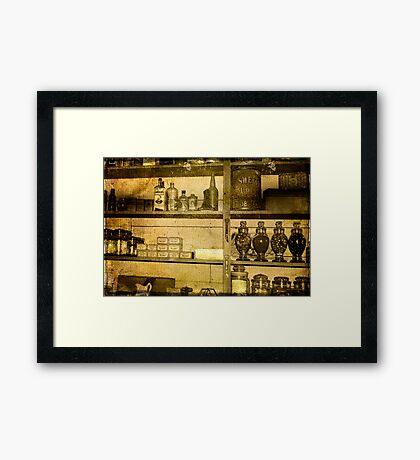 No Empty Shelves Framed Print