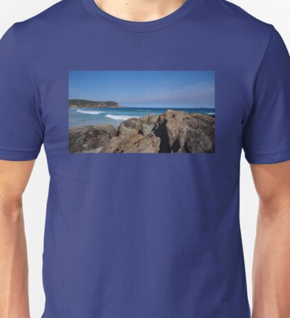 Rocks and the Ocean Unisex T-Shirt