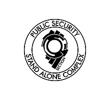 Public Security Section 9 Photographic Print