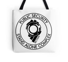 Public Security Section 9 Tote Bag