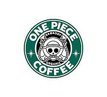 One Piece Coffee Photographic Print