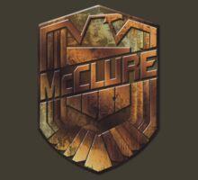 Custom Dredd Badge - (McClure) by CallsignShirts