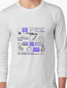 Dean-a-ling-a-ling Long Sleeve T-Shirt