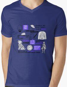 Dean-a-ling-a-ling Mens V-Neck T-Shirt