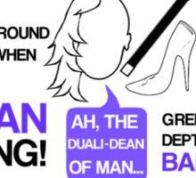 Dean-a-ling-a-ling Sticker