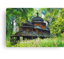 Piatkowa church Canvas Print