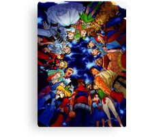 Marvel Vs Capcom Canvas Print