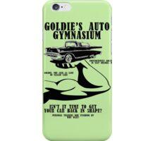 Goldie's Auto Gymnasium iPhone Case/Skin