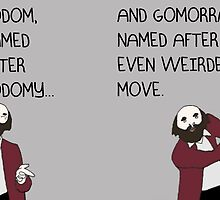 PROFESSOR BROTHERS - BIBLE STUDIES - SODOM AND GOMORRAH by philopoodle