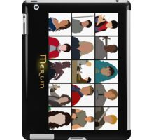 Characters Of Merlin iPad Case/Skin