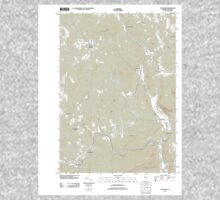 USGS Topo Map  Vermont VT Cavendish 20120507 TM Kids Tee