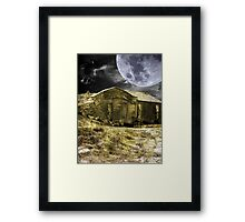 Praire Life Digital Framed Print