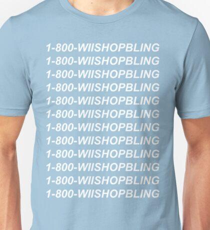 Wii Shop Bling Unisex T-Shirt