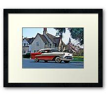 1956 Oldsmobile Two-Door Hardtop Framed Print