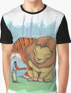 Lion, tiger & kitty. Graphic T-Shirt