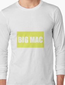 Big Mac Long Sleeve T-Shirt