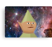 Elf In Space Canvas Print