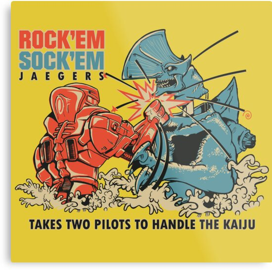 ROCK 'EM, SOCK 'EM JAEGERS by cubik
