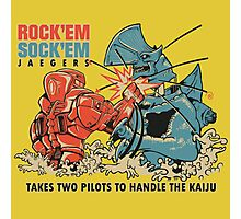 ROCK 'EM, SOCK 'EM JAEGERS Photographic Print