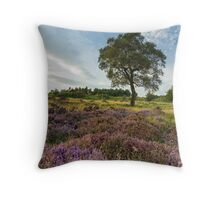 Heather and Hawthorn Throw Pillow