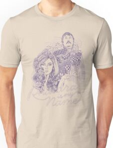 Phaedra is my Name- Dusty Purple Unisex T-Shirt