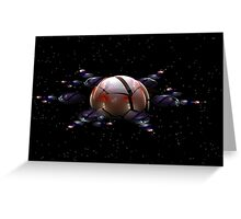 Space Station 12 Greeting Card