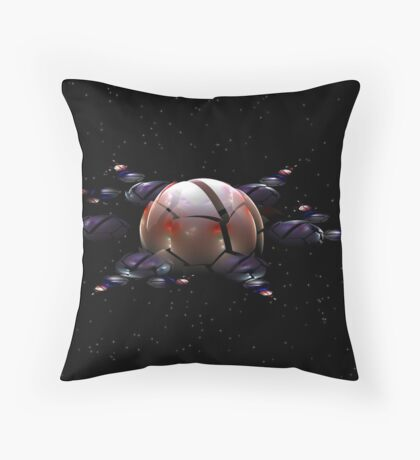 Space Station 12 Throw Pillow