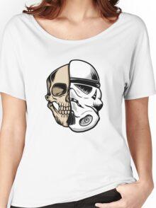 Star Wars Stormtrooper Skull Art Women's Relaxed Fit T-Shirt