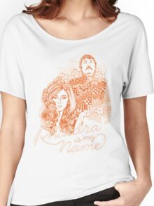 Phaedra is my Name- Burnt Orange Women's Relaxed Fit T-Shirt