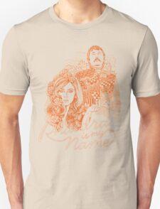 Phaedra is my Name- Burnt Orange T-Shirt