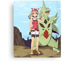 Pokemon May Canvas Print