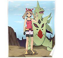Pokemon May Poster