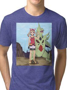 Pokemon May Tri-blend T-Shirt