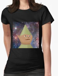 Elf In Space Womens Fitted T-Shirt