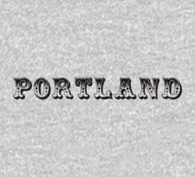 Portland is a Circus. by ONE WORLD by High Street Design