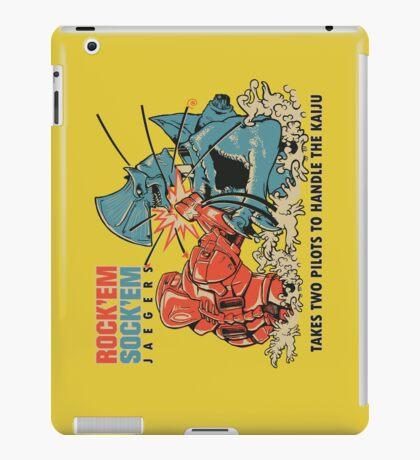 ROCK 'EM, SOCK 'EM JAEGERS iPad Case/Skin