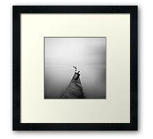 Stall Framed Print