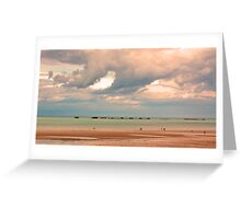 Gold Beach, Normandy - 69 Years after D-Day  Greeting Card