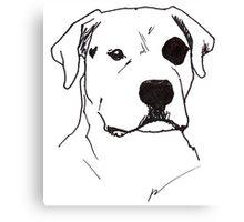The Raw Dog himself Canvas Print