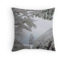 Out My Front Door Throw Pillow