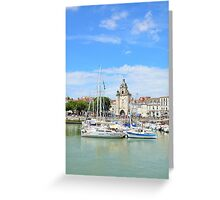 Vieux-port de la Rochelle, France Greeting Card