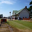Hazen Ark USA Depot by WildestArt