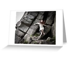 Sophie's Rocky Escape 2 Greeting Card