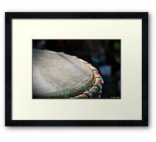 Djambè Framed Print